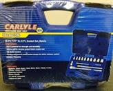 CARLYLE Hand Tool NAPA SOCKET SET 15 PC